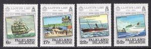 FALKLAND ISLANDS SCOTT 404-407