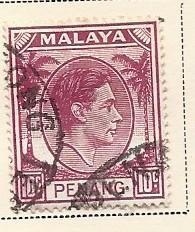Malaya - Penang #11    (U) CV $0.40