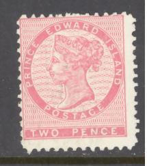 Prince Edward Island Canada Sc # 5 mint hinged (RS)