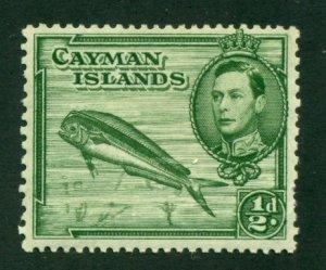 Cayman Islands 1938 #101 MH SCV (2020) = $0.75