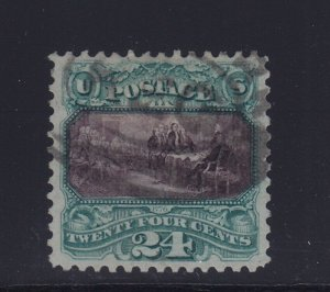 130 VF used PF cert  neat cancel with nice color cv $ 1750 ! see pic !