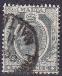 Malta #34 F-VF Used CV $6.50 (Z1643)