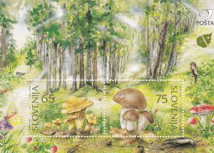 Slovenia MNH S/S 258 Mushrooms