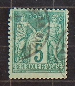 1876-1878,  Pax and Mercur, France (1789-Т)