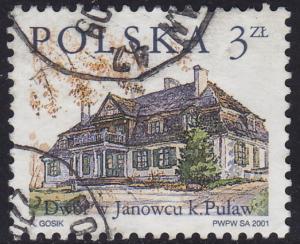 Poland - 2001 - Scott #3574 - used - Janowiec Estate