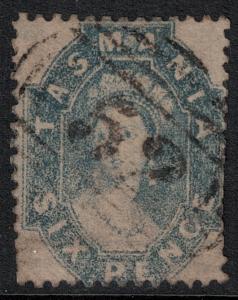 Tasmania 1864-1891 SC 33 Used CV $110