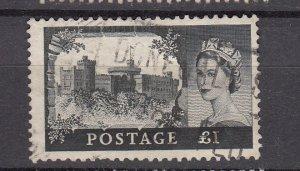 J26581  jlstamps 1959-68 great britain hv of set used #374 castles wmk 322