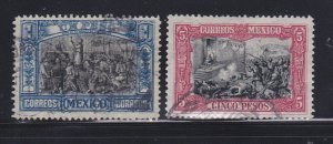 Mexico 319-320 U Independence