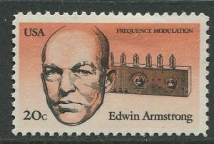 USA - Scott 2056 - American Inventors - 1983 - MLH - Single 20c Stamp