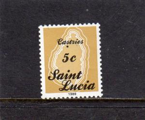 St Lucia 1989 Defins MNH