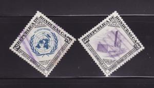 Honduras C223-C224 U UN (B)