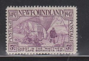 NEWFOUNDLAND Scott # 270 MH - 450th Anniversary Of Discovery