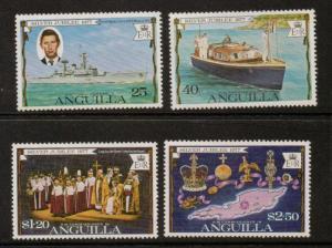 ANGUILLA SG269/72 1977 SILVER JUBILEE MNH