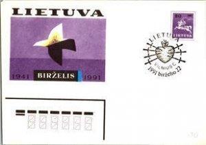 Lithuania, Worldwide Postal Stationary