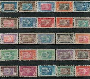Ivory Coast 1906-1907 SC 21-36 Mint/ 28.31 MNH Set
