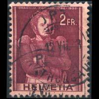 SWITZERLAND 1941 - Scott# 278 J.Forrer 2f Used