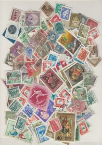 COLLECTION LOT # L8 HUNGARY 207gr ABOUT 3100 STAMPS FREE H & S