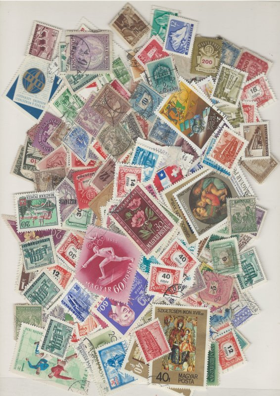 COLLECTION LOT # L8 HUNGARY 207gr ABOUT 3100 STAMPS BLOW OUT SALE