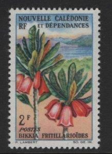NEW CALEDONIA, 331, HINGED, 1964-65, FLOWERS