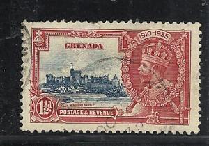 Grenada #125 used cv $3.75