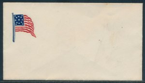 4 DIFF. FLAGS PATRIOTIC COVERS BV3422