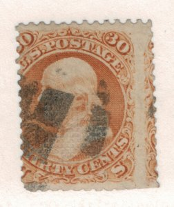 United States Stamp Scott #100, Used - Free U.S. Shipping, Free Worldwide Shi...