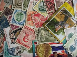Internationals WW collection breakdown, Thailand 35 different up to 2008