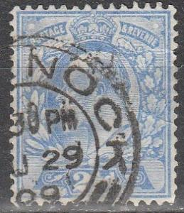 Great Britain #131 F-VF Used CV $11.50 (S7044)
