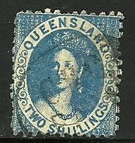 Queensland #52, Used. CV $ 57.50
