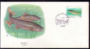Korea FDC SC# 1417 Sweetfish L215