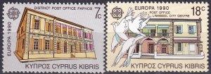 Cyprus #755-6  MNH  CV $2.75 (Z9507)