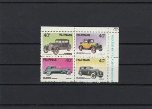 Mint Never Hinged Classic Motor Cars Stamps Ref 28461