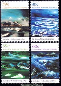 Australian Antarctic Territory Scott L77-L80 Mint never hinged.