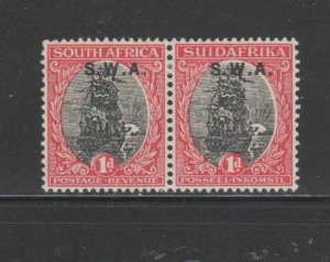 SOUTH WEST AFRICA #107  1930  1p  VAN RIEBEEKS SHIP    MINT VF LH O.G