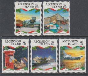 Ascension 570-574 Christmas MNH VF