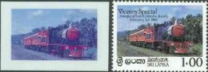 Sri Lanka 1986 Inaugural Run of 'Viceroy Special' Train d...
