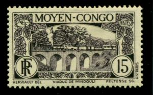 Middle Congo 1933 #70 MH SCV(2018)=$1.40