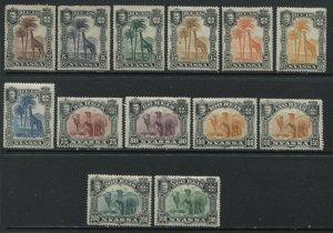 Nyassa 1901 complete Animal set mint o.g. hinged
