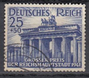 Germany - 1941 Brandenburg Gate Sc# B193 (586N)