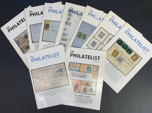 The Philatelist, Edited by Robson Lowe, Lot of 9 Issues, April - December 1967