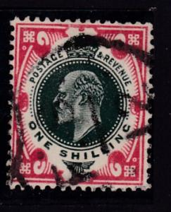 Great Britain 1902 King Edward VII 1shilling    F/VF/Used(*)