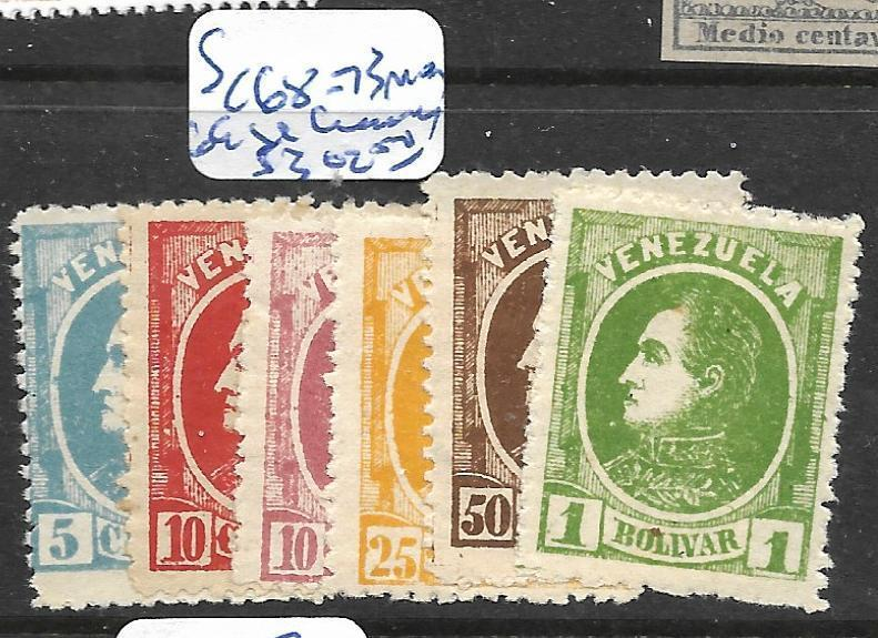 VENEZUELA (P1604B)  SC 68-73  MOG  69  SL CREASE