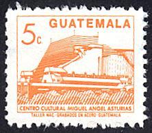 Guatemala # 449 used ~ 5¢ Cultural Center Building