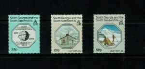 South Georgia:1987, 30th Anniversary International Geophysical Year, MNH set