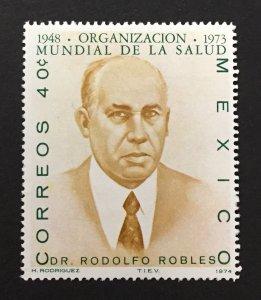 Mexico 1974 #1064, WHO 25th Anniversary, MNH.