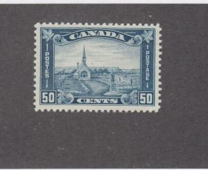 CANADA (KSG92) # 176 VF-MNH 50cts GRAND PRE,NS /DULL BLUE SHADE CAT VALUE $600