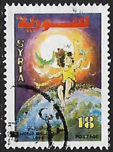 Syria # 1415 - World Children's Day - used.....{Gn16}