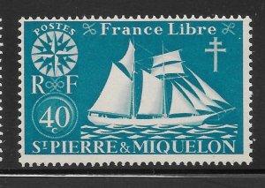 Saint Pierre and Miquelon Mint Never Hinged [4135]