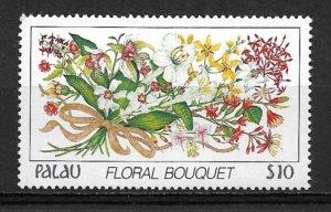 1988 Palau 142 Bouquet MNH