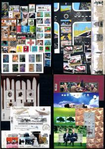 Belgium 2013 Complete Year Set incl.  9 souv. Sheets / 4 carnets MNH